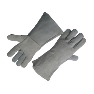 Fully Lined Heat Resistant Split Leather Welder Glove - Ergotrade Kft.