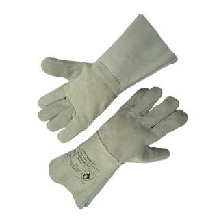 Heat Resistant Split Leather Welder Glove - Ergotrade Kft.