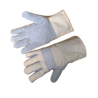 Knuckle Strap Split Leather Glove - Ergotrade Kft.