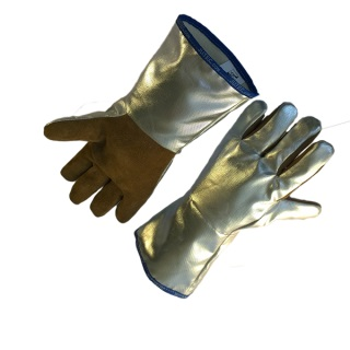 Sebatan Leather/Aluminium Coated Glove up to 1000°C - Ergotrade Kft.
