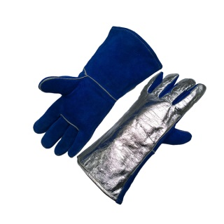 Sebatan Leather/Alu Coated Glove (up to 800°C) - Ergotrade Kft.